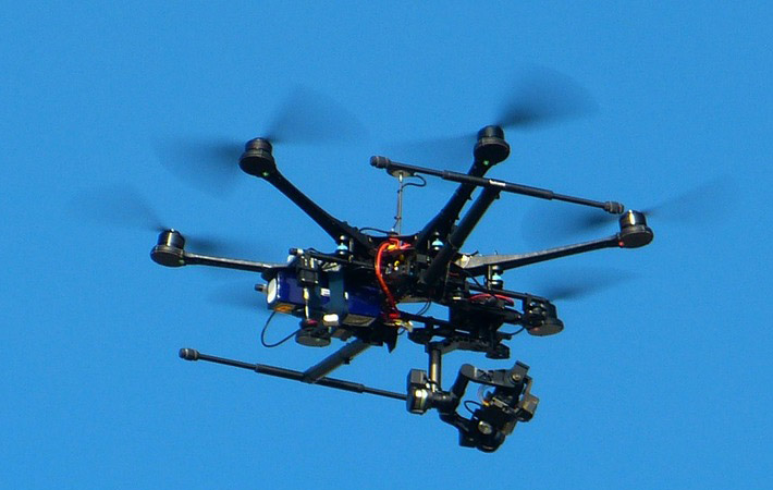 Very-low-level drone operations near controlled airports