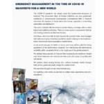 ANACNA Monograph on Emergency Management at the time of COVID-19